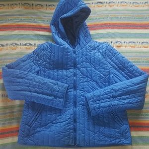 Urban Outfitters BDG Blue Puffy Jacket